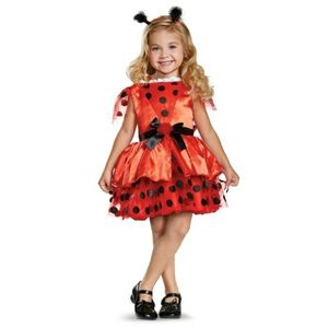 Ladybug toddler Halloween costume - 2T